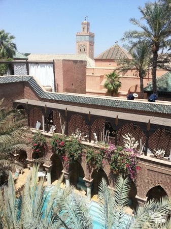 La Sultana Marrakech: View from roof terrace