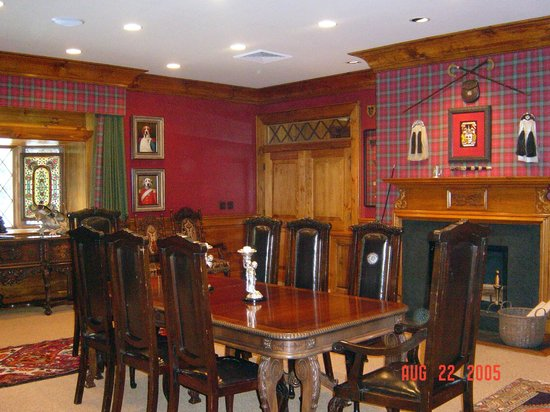 The Lodge at Buckberry Creek: Our boardroom is ready for your private dinner or a corporate event or wedding