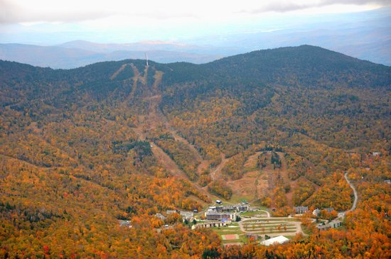 The Inn Bolton Valley &amp; Ski Area: Ariel View Foliage