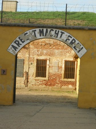 Terezin, Repubblica Ceca: Ingresso al campo