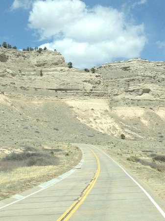 Gering, NE: at the bottom of Scotts Bluff National Monument