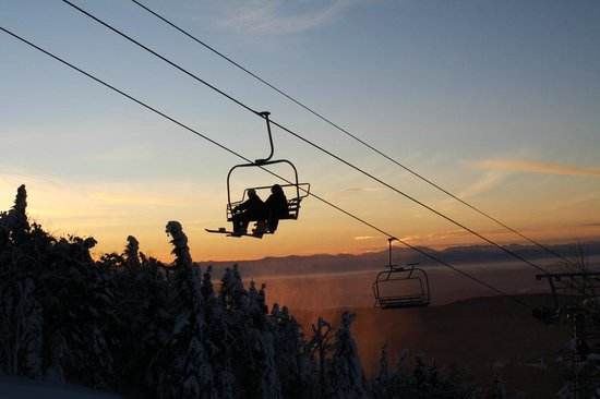 Bolton Valley, Вермонт: Sunset Chairlift