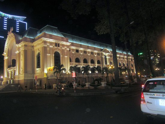 Caravelle Hotel: Ho Chi Minh at Night