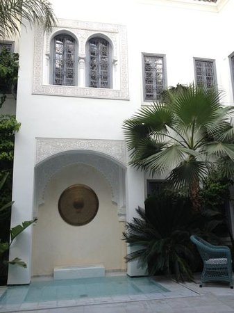 Riad Idra: splendide le patio
