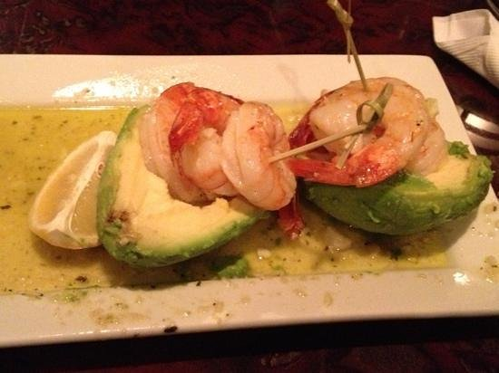Burtonsville, MD : appetizer avocado w shrimp