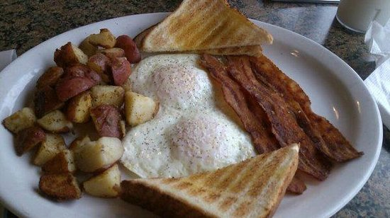 , : 3.95 breakfast special