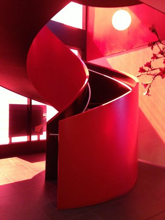 citizenM Glasgow: Hotel Staircase