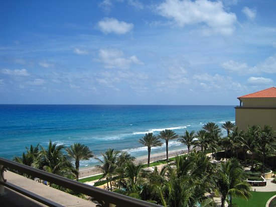 The Ritz-Carlton, Palm Beach: View from our room balcony