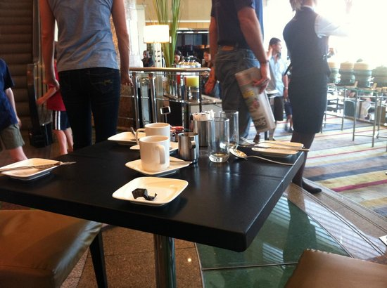 Hilton Kuala Lumpur: Staff not allowing guests take seat for breakfast despite many empty tables