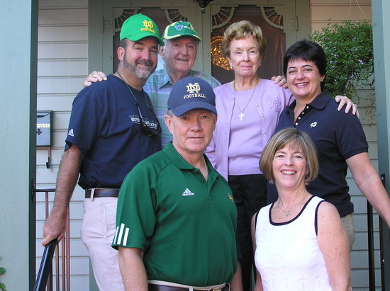 Murphy Guest House Bed and Breakfast: The Dempsey family here for ND football game