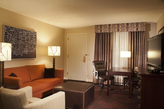 Embassy Suites Hotel Syracuse: Living Room