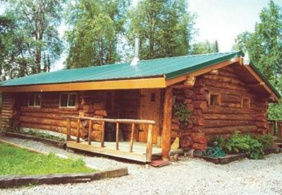 Trap line 2 bedroom log cabin picture of gate creek Log cabin 2 bedroom