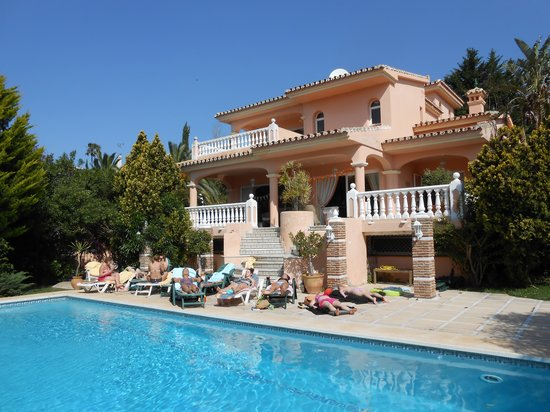 Elviria, Spanyol: villa palm beach