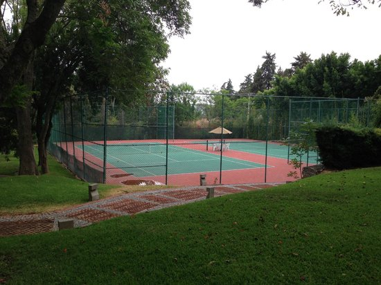 Rancho San Diego Grand Spa Resort: cancha de tenis