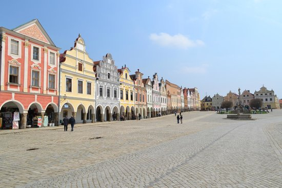 Telc, Tschechien: Central square 3