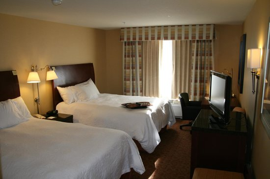 Hampton Inn Pendleton: Two queen room