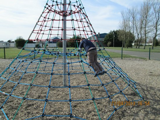 Silloth, UK: The climbing frame!
