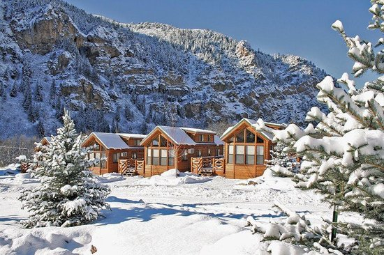 Glenwood Canyon Resort : Cozy in the Winter