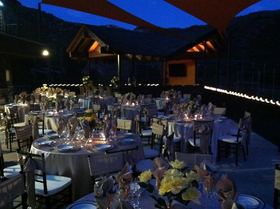 Glenwood Canyon Resort: Wedding Reception at the No Name Bar and Grill