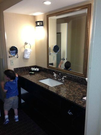 Buena Vista Suites: Extra sink and mirror in the hallway