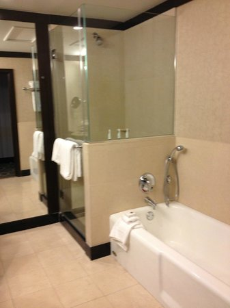 Sofitel Philadelphia Hotel: shower