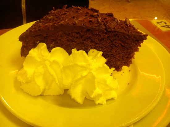 Topazio Hotel: Freidi&#39;s Chocolate Cake