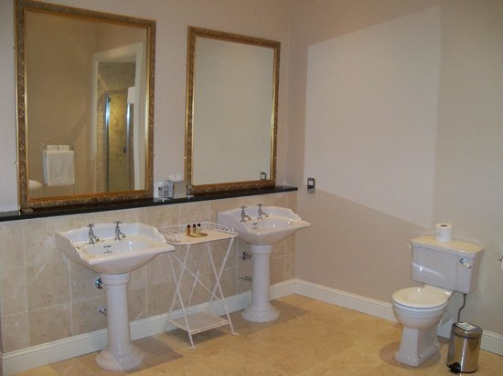 Lyrath Estate Hotel, Spa & Convention Centre: bathroom- room 41