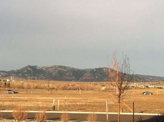 HYATT house Boulder/Broomfield: View from the Hotel