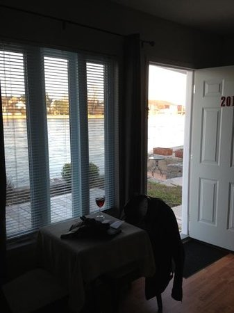 Campbellford, Canada : view from the living area