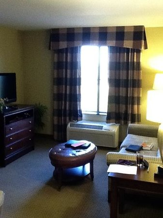 Homewood Suites by Hilton Fresno: living room