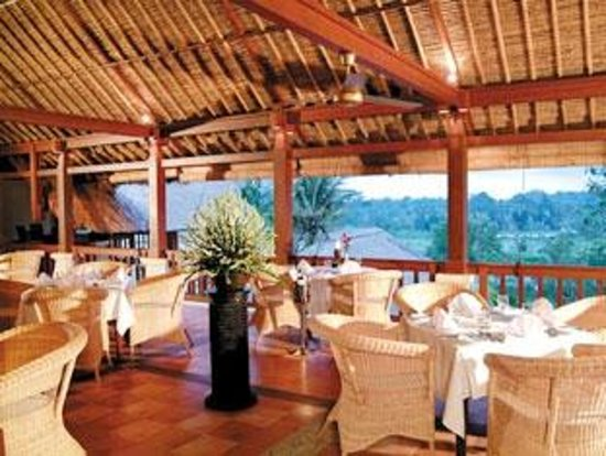 Kori Ubud Resort: Restaurant Second Floor