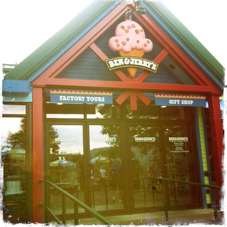 Waterbury, VT: Ben & Jerry's Vermont