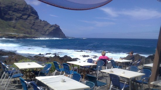 Buenavista, Espagne : Restaurante junto al mar a 10 minutos del hotel 