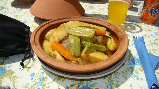 Kayakoy, Turkey: Lamb tagine - FAB!!