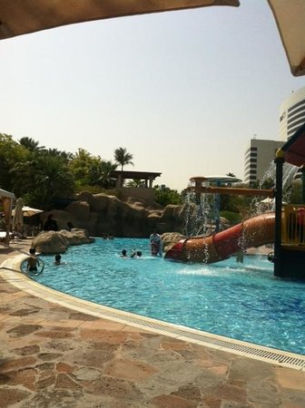 Grand Hyatt Dubai: The kids' splash pool