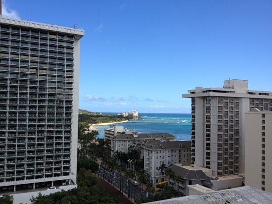Holiday Inn Waikiki Beachcomber Resort Hotel: 16階からの眺め