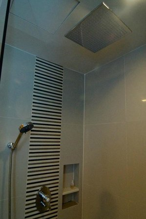 "Ramada Hotel & Suites Bangkok: ""Rain fall"" and hand held shower heads - nice touches"