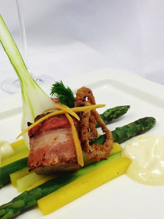 Western Finland, Finland: Veal wrapped in bacon