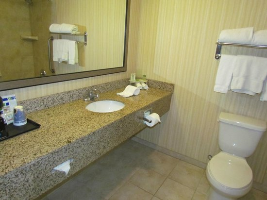 Holiday Inn Express Los Angeles-LAX Airport: Salle de bain