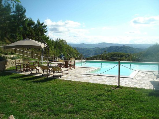Country House La Celletta: Piscina panoramica