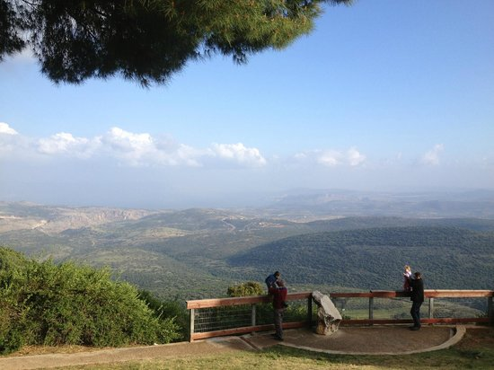 View from one of the lookouts in Amirim