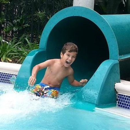 ‪‪Omni Orlando Resort at ChampionsGate‬: The smile on my boy's face says it all!‬
