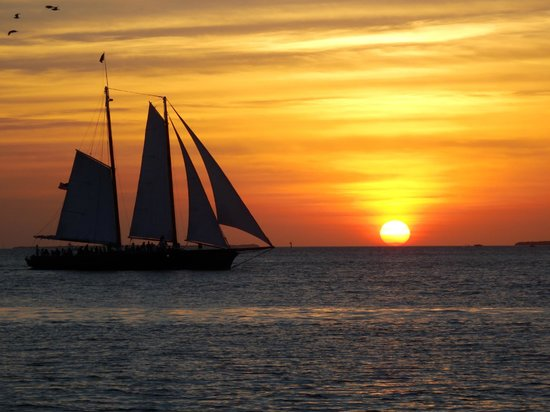 Marquesa Hotel: Sunset at Mallory Square