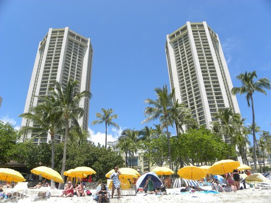 Hyatt Regency Waikiki Resort &amp; Spa: 2 hotel towers