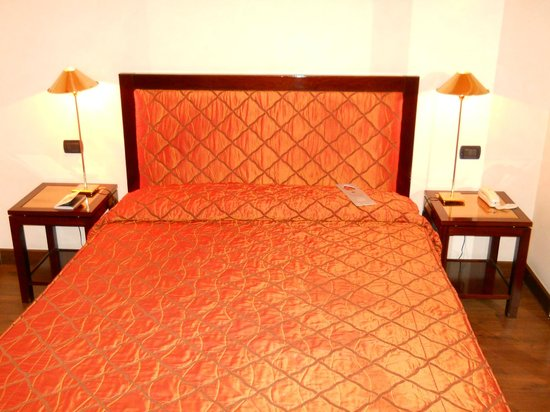 San Gallo Palace Hotel: The double bed