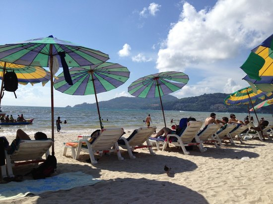 FunDee Boutique Hotel : Magic scenery PATONG beach