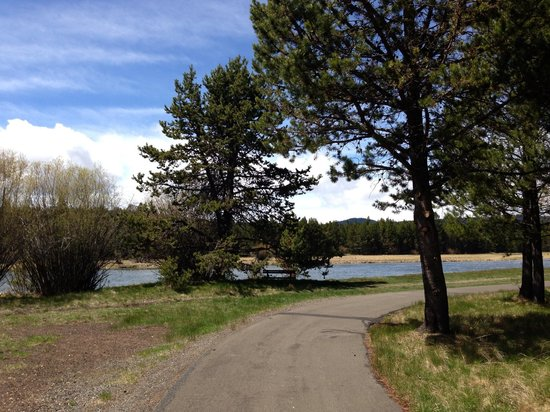 Sunriver Resort: Bike trail