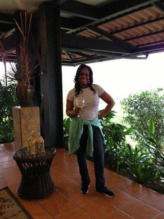 Arenal Kioro: Wine on arrival