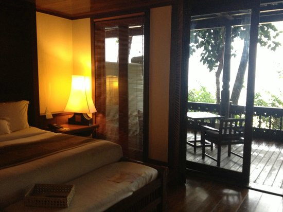 Tanjong Jara Resort: Room with view to the beach