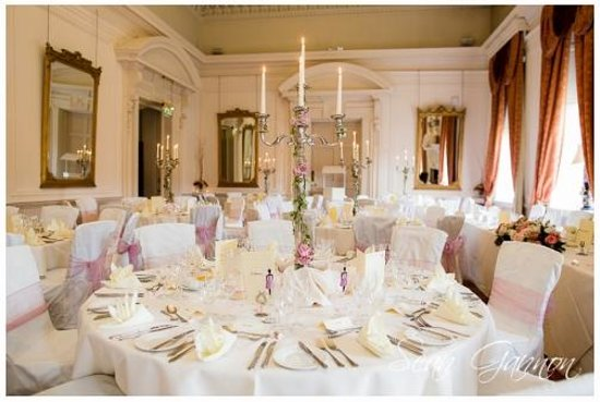Coombe Abbey Hotel: The Cloisters set up for our Wedding Breakfast